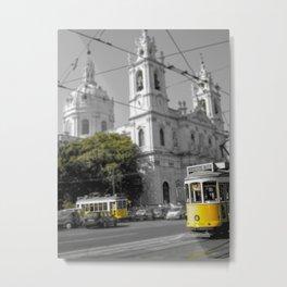 Lisbon Tram 28 Metal Print