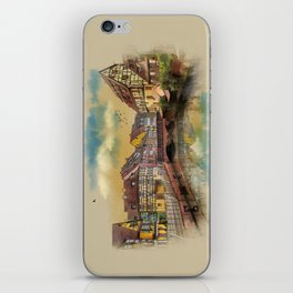 panorama city of Colmar France iPhone Skin