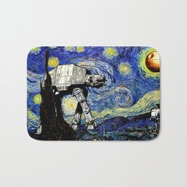 Starry Night versus the Empire Bath Mat