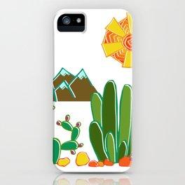 Southwest Sunshine iPhone Case