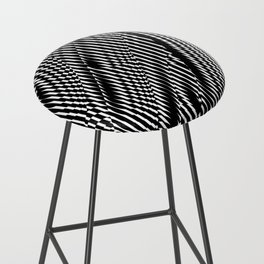 Op Art #1 Bar Stool