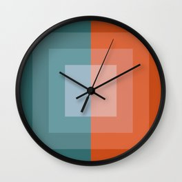 Mint and Sweet Wall Clock