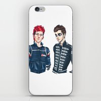 my chemical romance iPhone & iPod Skins featuring My Chemical Pilots by poweredbycokezero