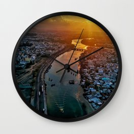 Landscape Photography by Linh Nguyễn Wall Clock