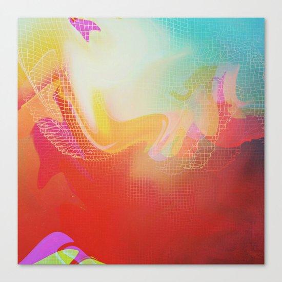 Glitch 30 Canvas Print