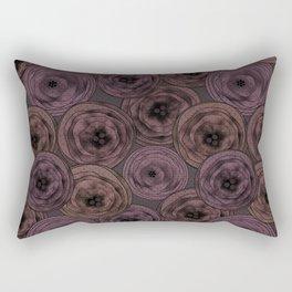 Chocolate velvet . Rectangular Pillow