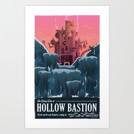 Hollow Bastion (Kingdom Hearts) Travel Poster Art Print