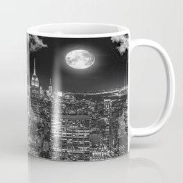 New York Under the Moon Coffee Mug