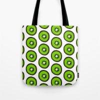 kiwi Tote Bags featuring KIWI by Clove