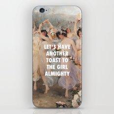 Floralia | Girl Almighty iPhone Skin