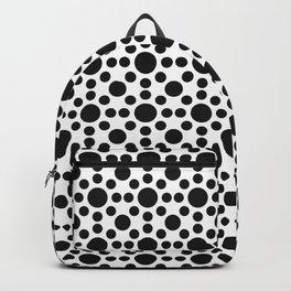 Sunshine Dots Optical Illusion Pattern Backpack