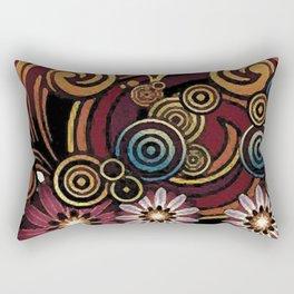 Colors and volutes Jacob's fashion Paris Rectangular Pillow