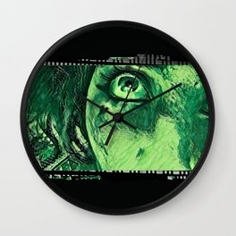Down From Above: Hearts of Venom Wall Clock
