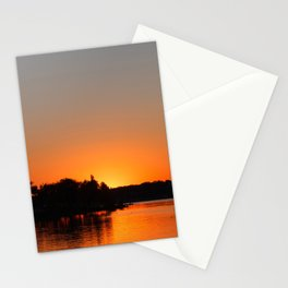 Sunset at Sunset Bay Stationery Cards