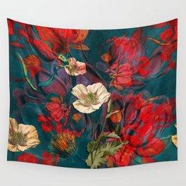 Flowers pattern Wall Tapestry