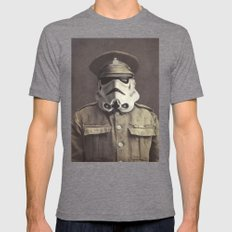 Sgt. Stormley  Tri-Grey LARGE Mens Fitted Tee