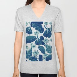 Blue nature Unisex V-Neck