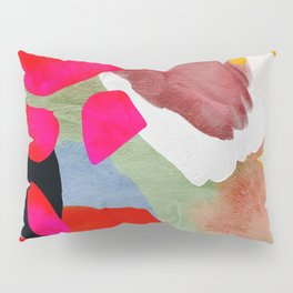 phantasy in red abstract Pillow Sham