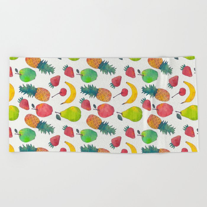 Fruity Beach Towel