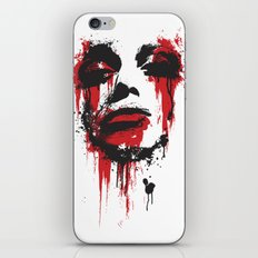 Paint Face iPhone & iPod Skin