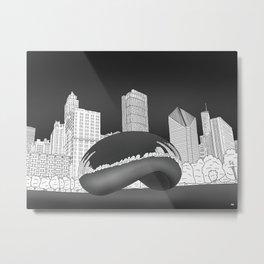 Millennium Park Metal Print