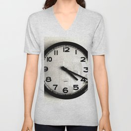 Four Nineteen Clock Unisex V-Neck
