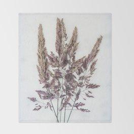 Velvet Grass Throw Blanket