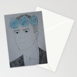 David Lynch Flower Crown Stationery Cards