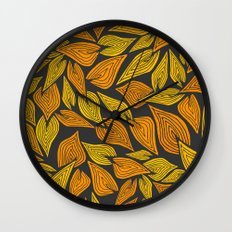 Autumn Night Wall Clock