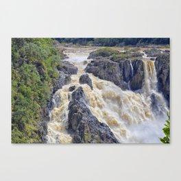 Powerful Barron Falls Canvas Print