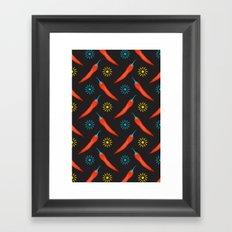Hot Chili Peppers Framed Art Print