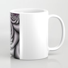 Purple and Gray Coffee Mug