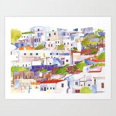 Lindos Art Print