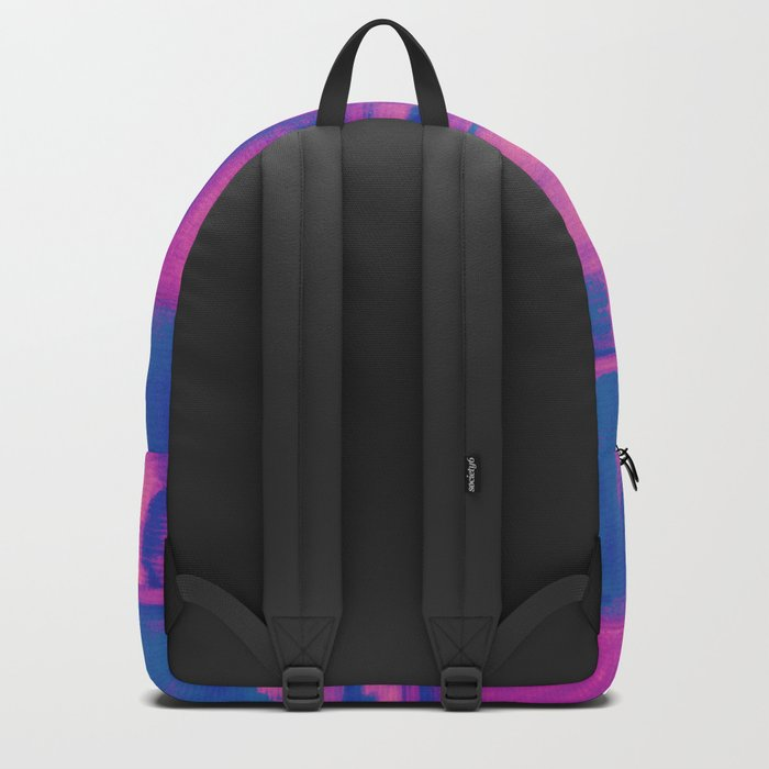 Watercolor abstract 27 Backpack