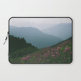 Mountains & Flowers Laptop Sleeve