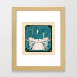 Italianate Tub 1 Framed Art Print