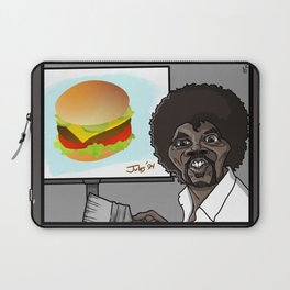 This Is A Happy Burger... Laptop Sleeve