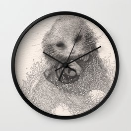 Blossom nap Wall Clock
