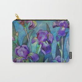 Fantasy Irises Carry-All Pouch