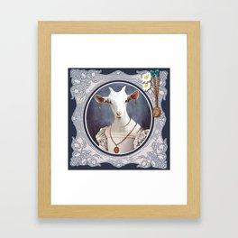Biquette Coquette Framed Art Print