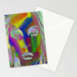 Peer Out Of Colour Stationery Cards