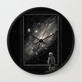 Looking Through a Masterpiece Wall Clock