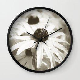 Fading Summer Wall Clock