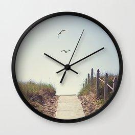 Gull Greetings  Wall Clock