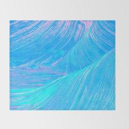 Pastel Swirls Throw Blanket