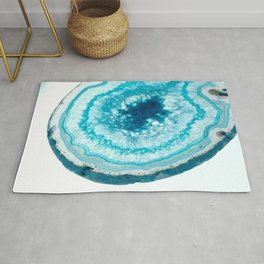 Turquoise Agate Well Rug