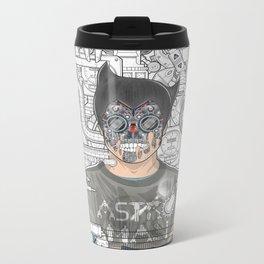 astro man Metal Travel Mug