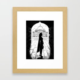 Kali the Black Framed Art Print
