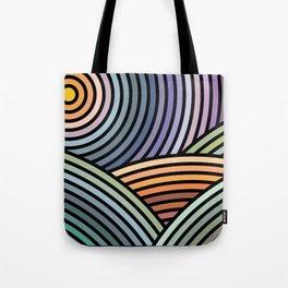 Hypnotic landscape Tote Bag