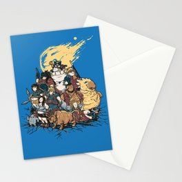 FF7 - FULL FAT 7 Stationery Cards